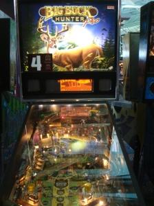 Machine #185: STERN BIG BUCK HUNTER